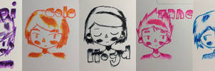 colour doodles