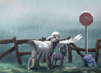 Rain (collab with Holka13)