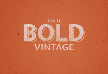 True Bold Vintage by rlharris9337