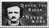 Edgar Allen Poe stamp by Kixxar