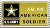 American Soldier stamp by Kixxar