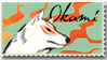 Okami Stamp 1 by Kixxar
