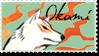 Okami Stamp 1 by Kixxar