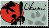 Okami Stamp 2 by Kixxar
