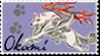 Okami Stamp 3 by Kixxar
