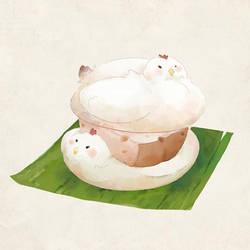 Chicken mochi by ShaunPayne