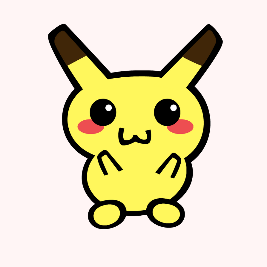 Kawaii pikachu by falsereflex on deviantart - Kawaii pikachu ...