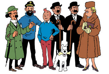 Tintin Character Revamp by FalseReflex