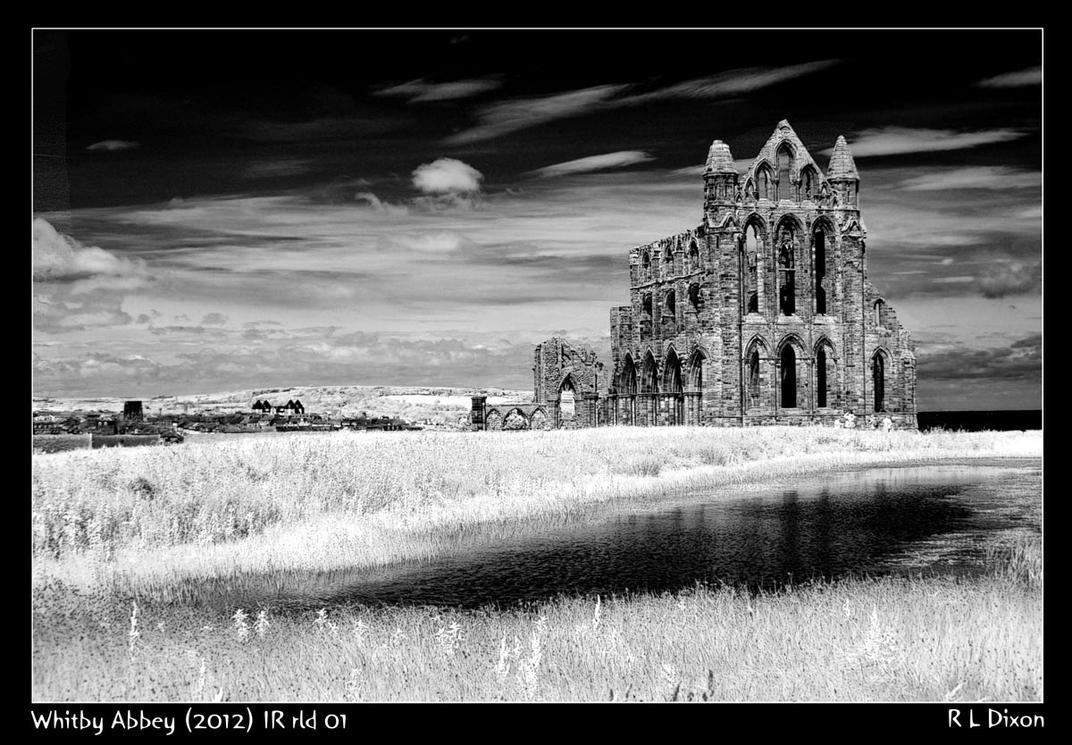 Whitby Abbey 2012      IR rld 01 by richardldixon