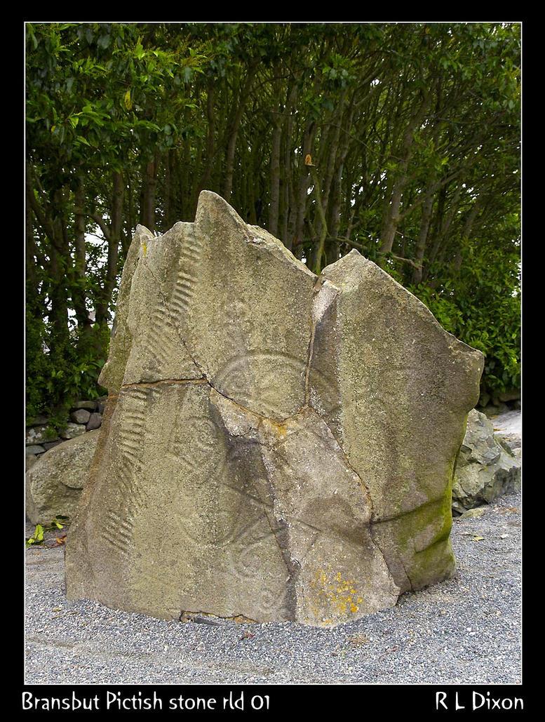Bransbut Pictish Stone rld 01 by richardldixon