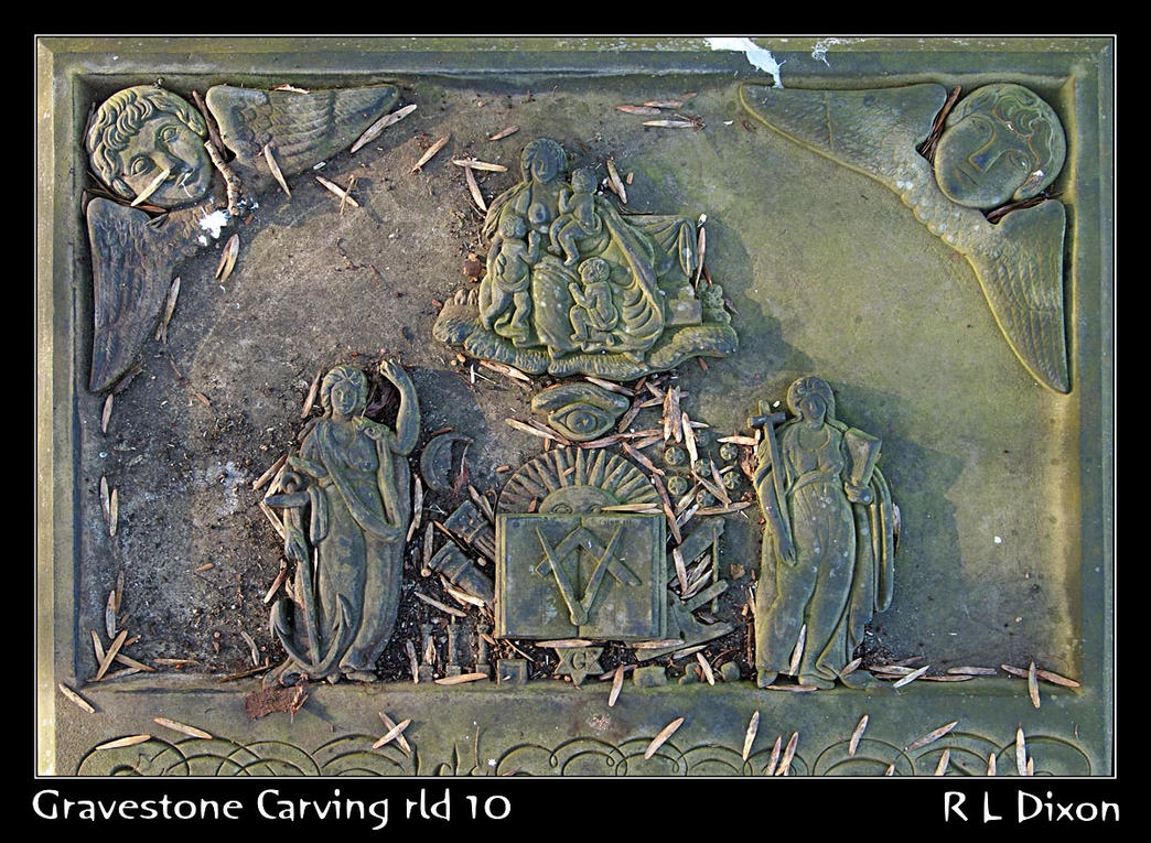 Gravestone carving rld dasm by richardldixon on deviantart