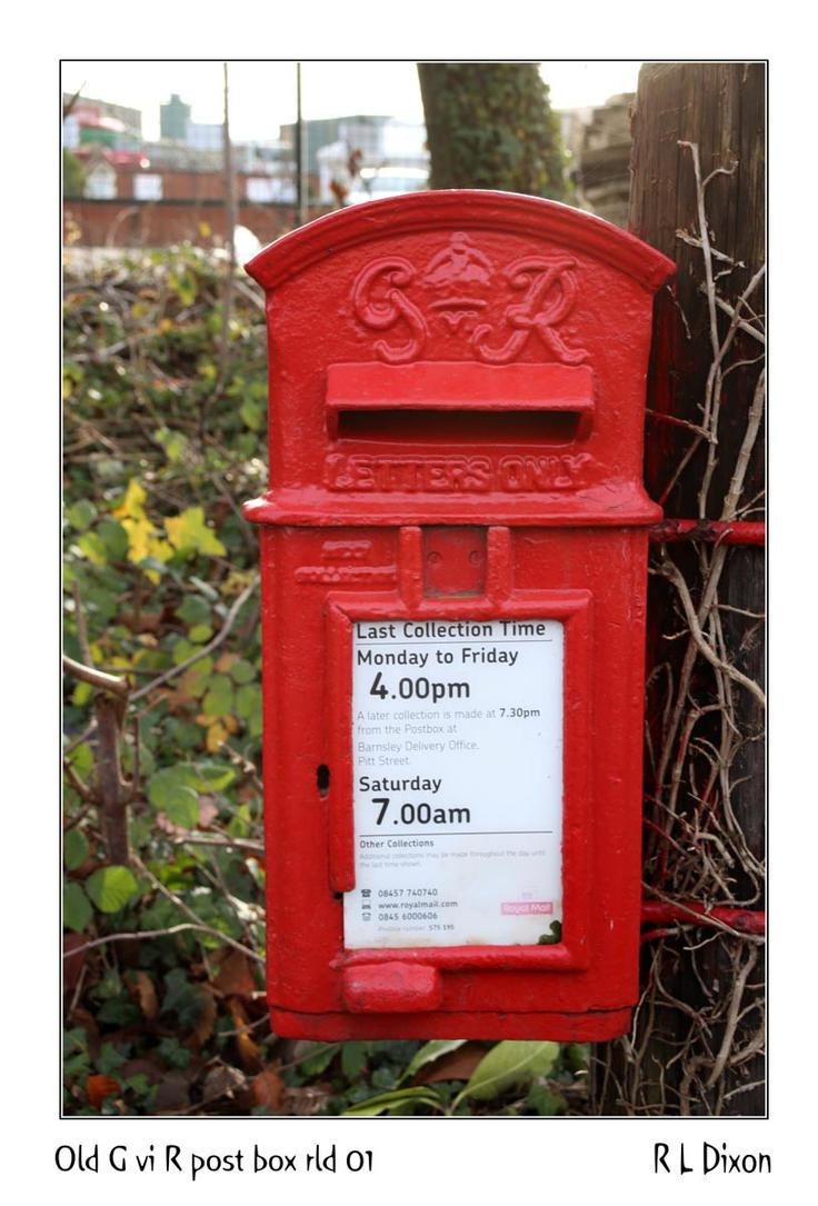 Old G vi R post box  rld 01 dasm by richardldixon