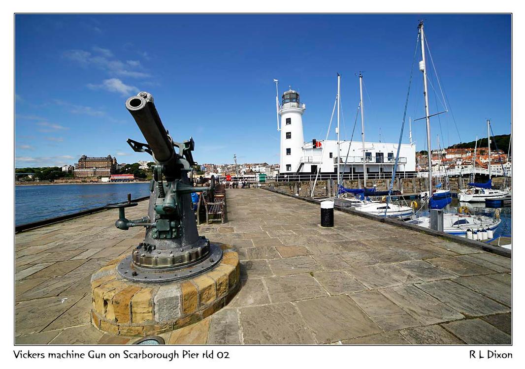Vickers machine Gun Scarborough Pier rld 02 dasm by richardldixon