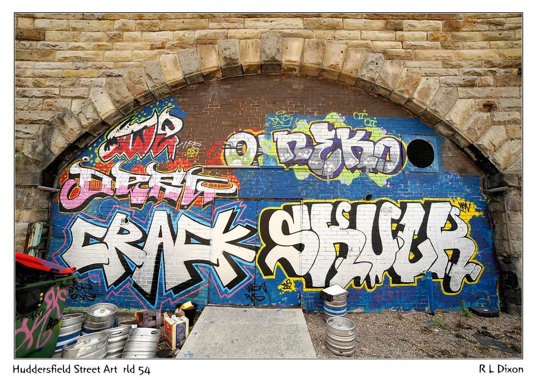 Huddersfield Street Art  rld 54 dasm by richardldixon