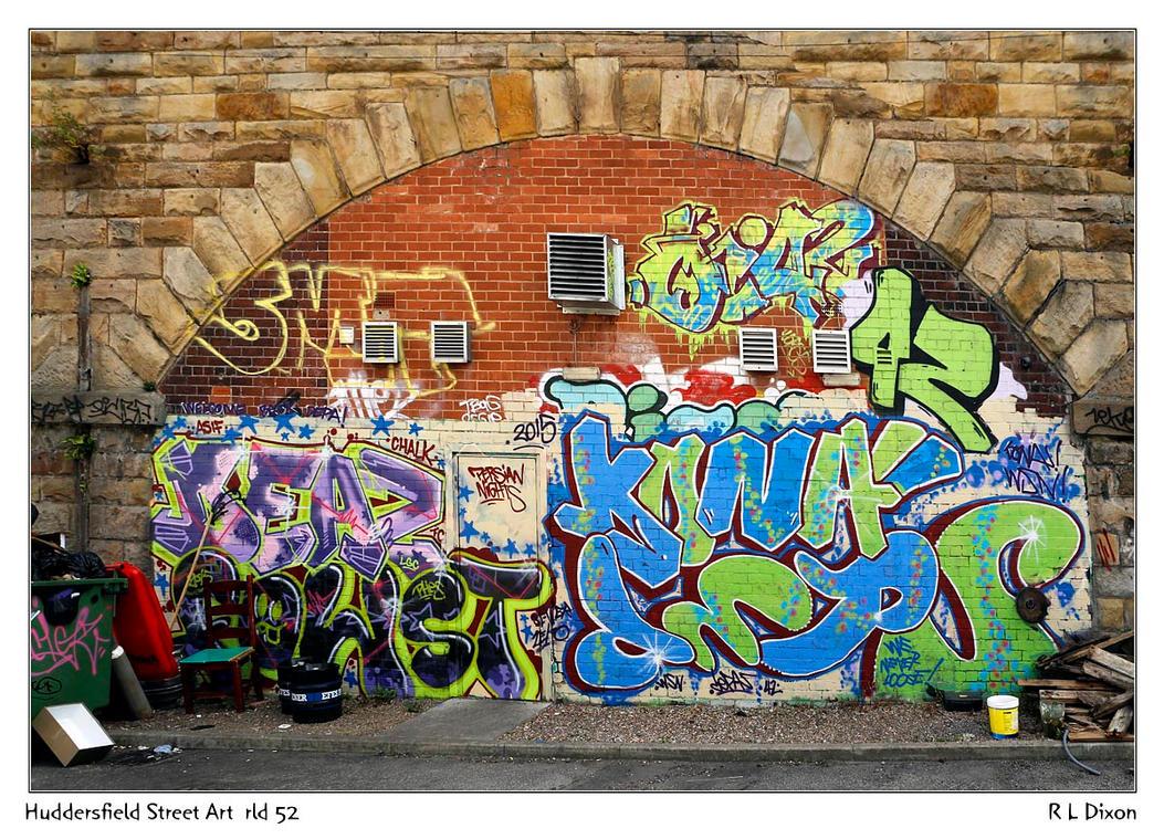 Huddersfield Street Art  rld 52 dasm by richardldixon