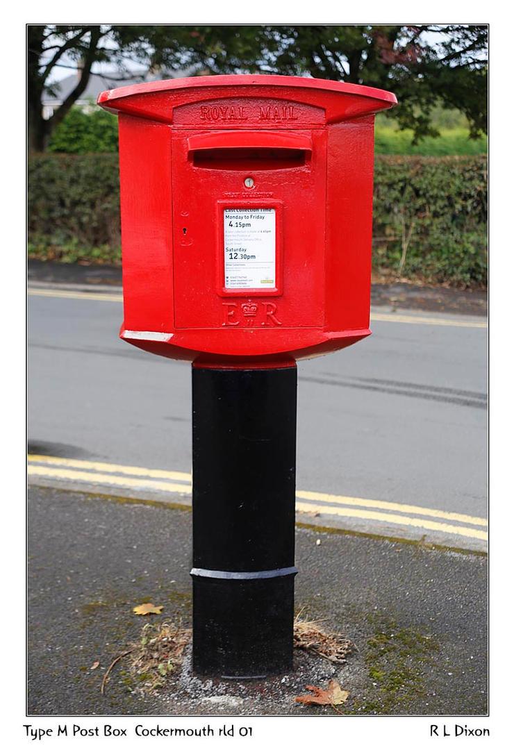 Type M Post Box Cockermouth rld 01 dasm by richardldixon