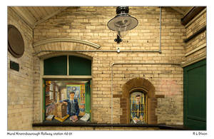 Mural Knaresbourough Railway Station rld 01 dasm