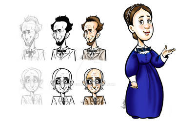 Pioneers Sketches