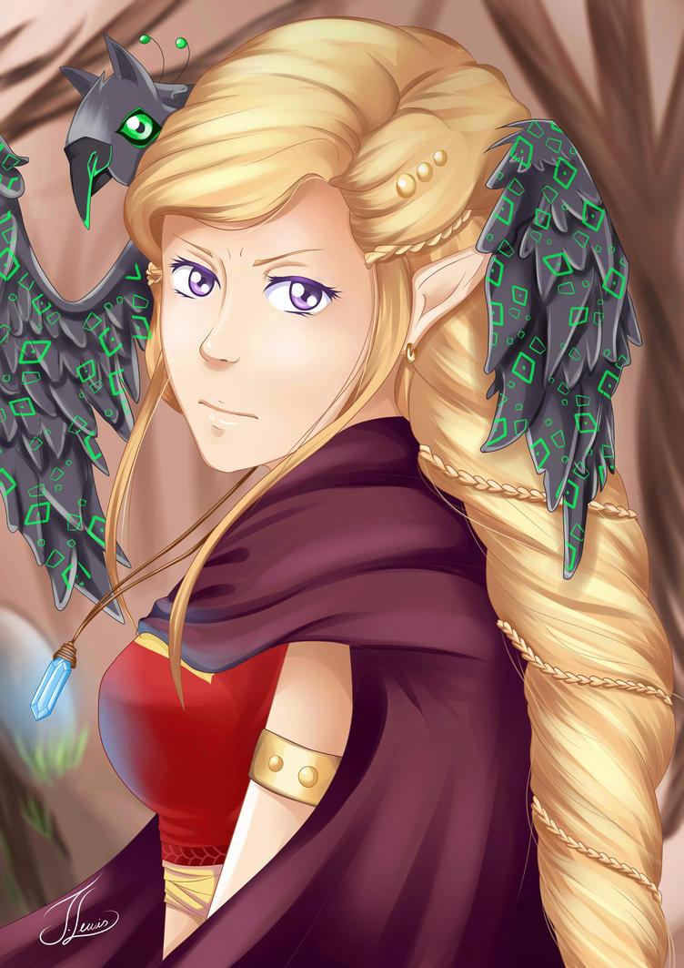 Eldarya - Amelia by JessicaLewis