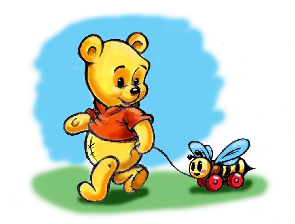 Baby Winnie the Pooh by CuteLittleAnimals