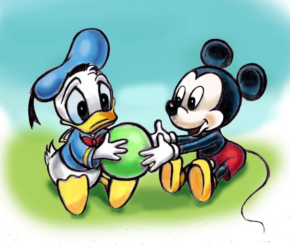 Uncategorized Mickey Mouse Donald Duck disney babies mickey mouse and donald duck by cutelittleanimals on cutelittleanimals