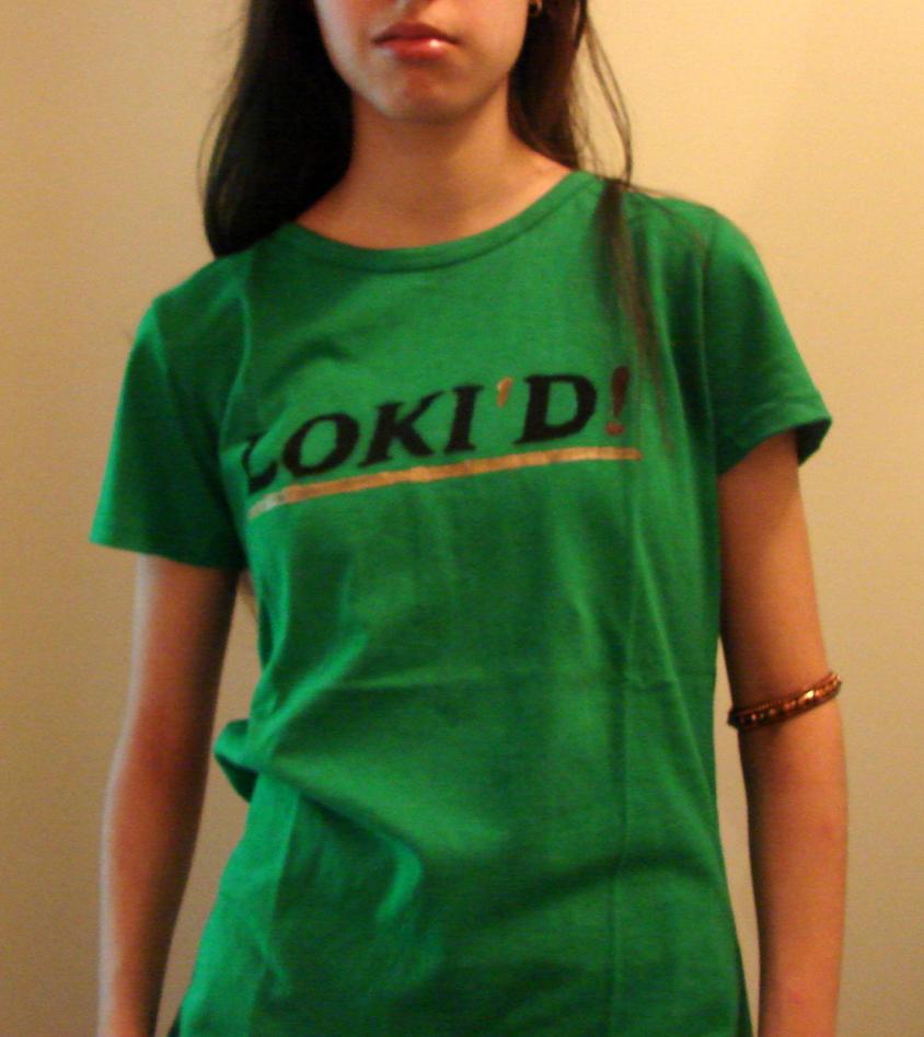 Loki'd T-shirt by xXknightressXx