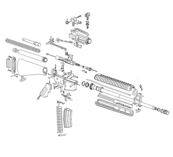 AR      15    Arranged Parts by Aidank on DeviantArt