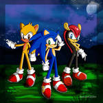 Sonic, Mighty, and Ray :3