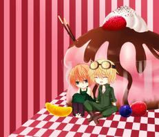 Ice Cream Sundae by Rinslettuce