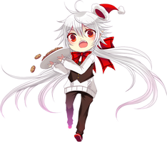 HA: Holly Claus by Rinslettuce