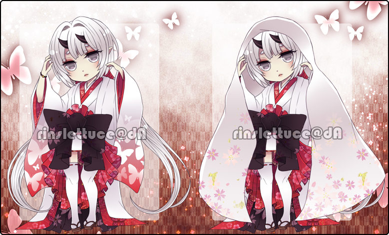 Adoptables AUCTION 02: Snow Child [CLOSED] by Rinslettuce