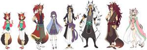 Spirit Parade: Character Lineup