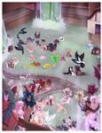 Bath Time! by Rinslettuce