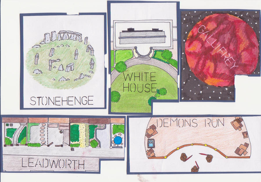 Series Six Dr Who Cluedo Rooms Part I By Possum29 On