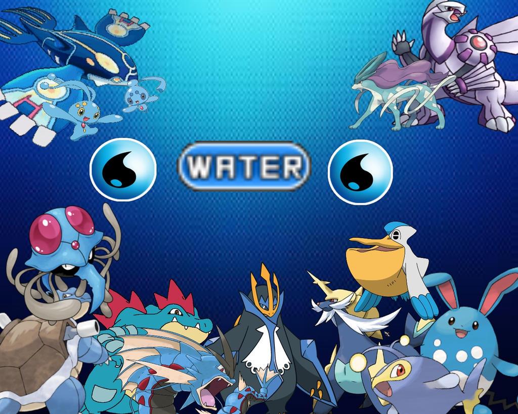 Pokemon Water Type Legendary Images