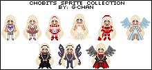 Chobits Sprite Series by splendidpixels