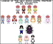 Pretear Sprite Series by splendidpixels