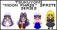 Tsukuyomi MOON PHASE Sprites