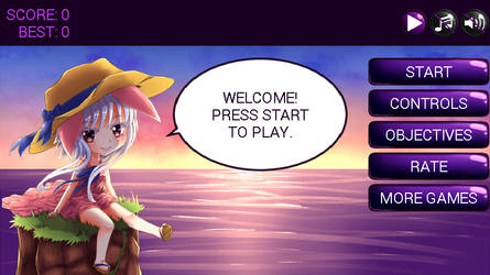 Android Game: Bunny Island by bl1zz4r4