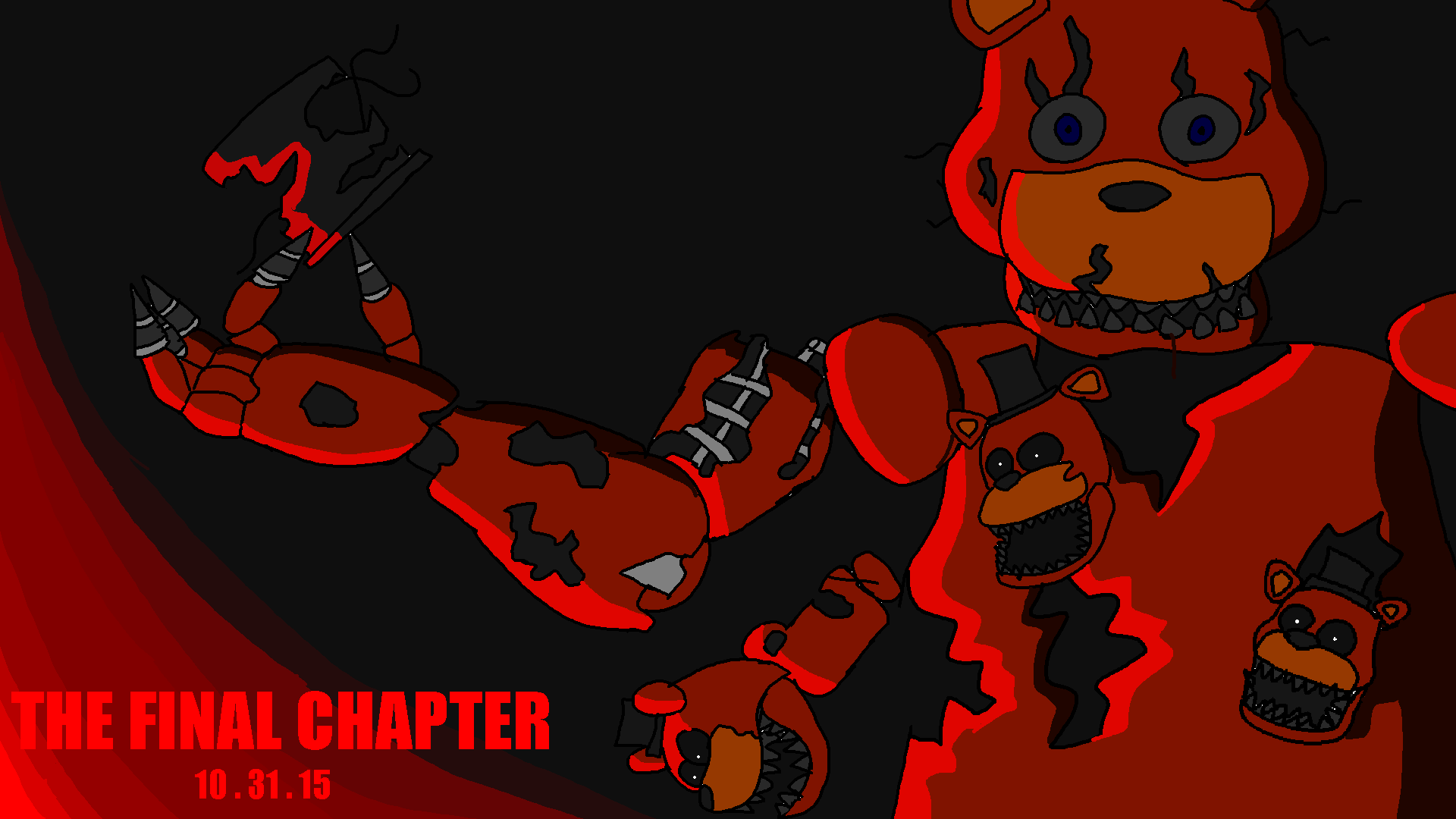 Five nights at freddy s 4 by lego8gamer on deviantart