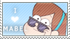 Mabel Pines Stamp F2U by InkyGirly