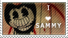 Sammy Lawrence Stamp - F2U by InkyGirly