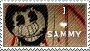 Sammy Lawrence Stamp - F2U by InkyGirly