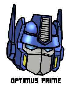 Optimus Prime's Head - Color