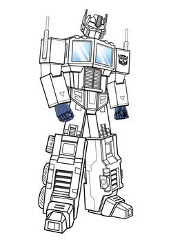 Optimus Prime - second attempt