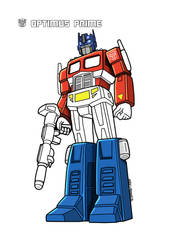 Optimus Prime - Redraw