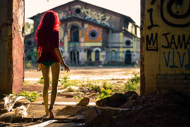 Leaving the Asylum by MimsAerith