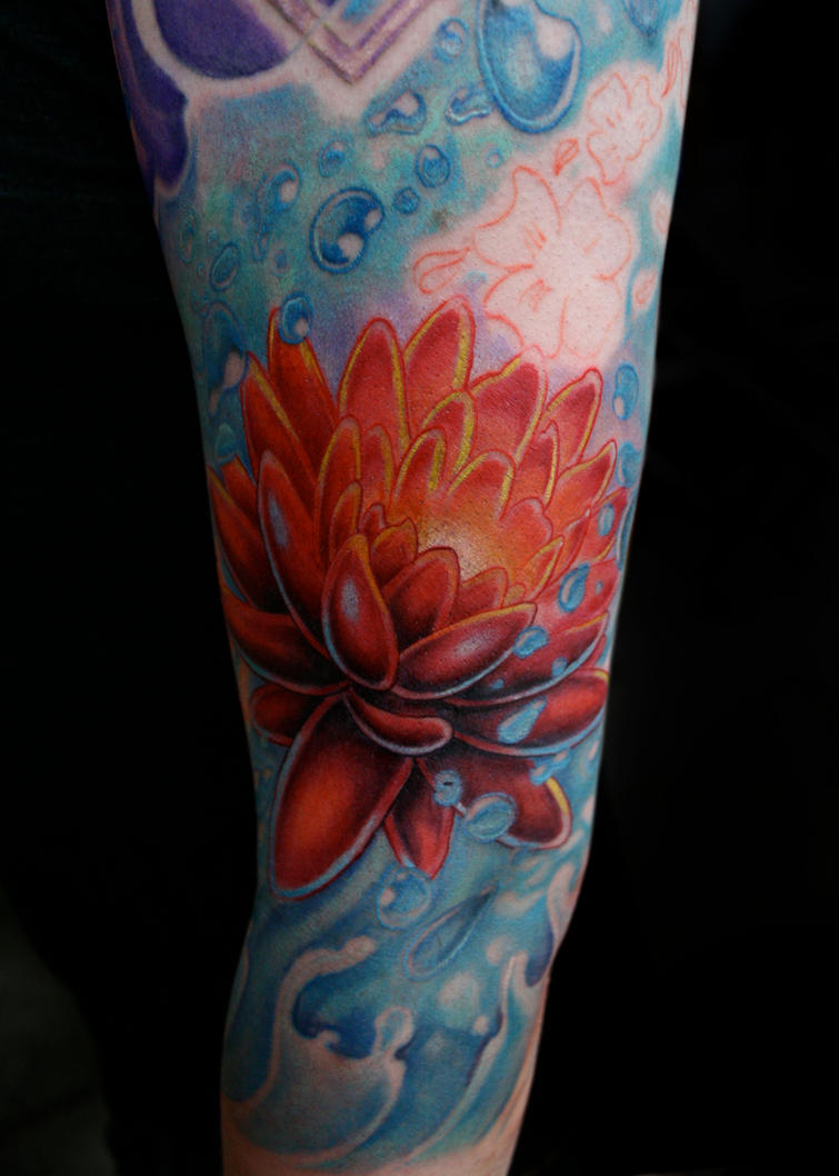 Lotus flower tattoo by defpattern on deviantart lotus flower tattoo by defpattern izmirmasajfo Choice Image