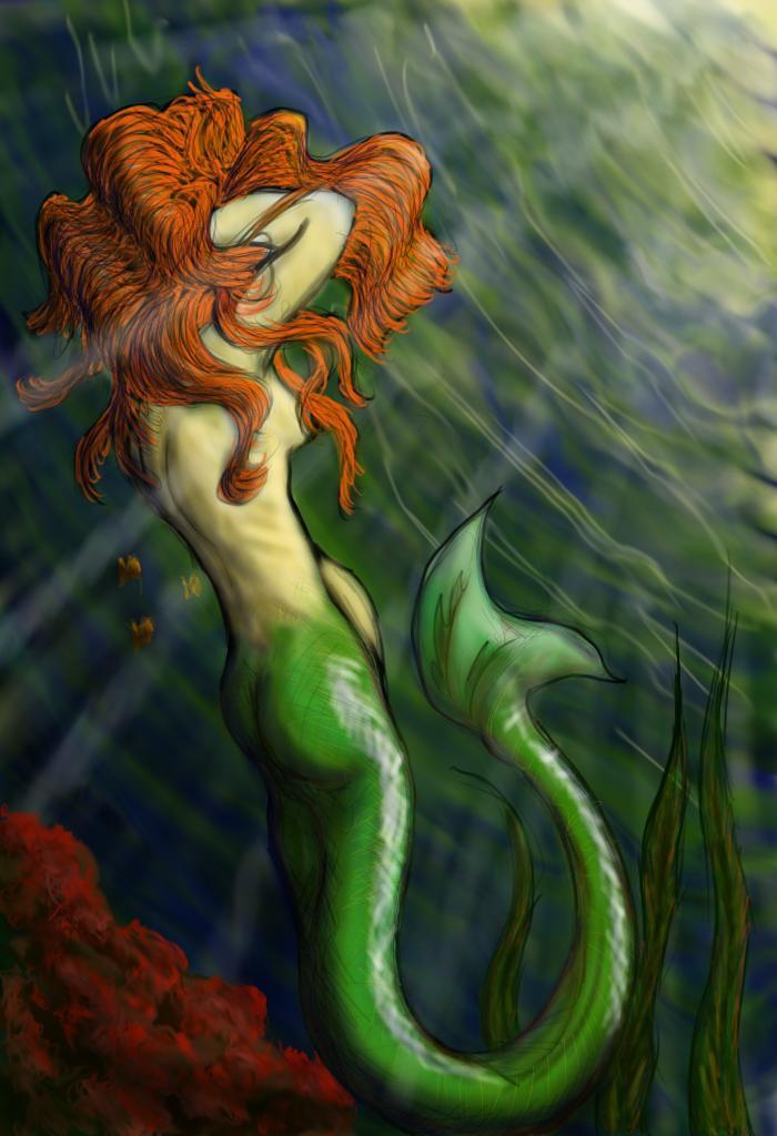 Mermaid by WhatIseeNotWhatiKnow