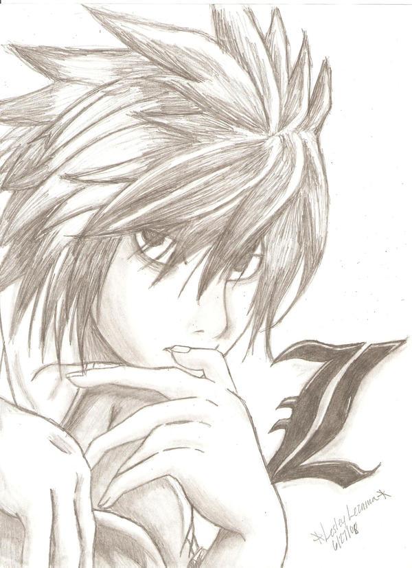 Death Note-L by Tenten-Dark-Angel on ...